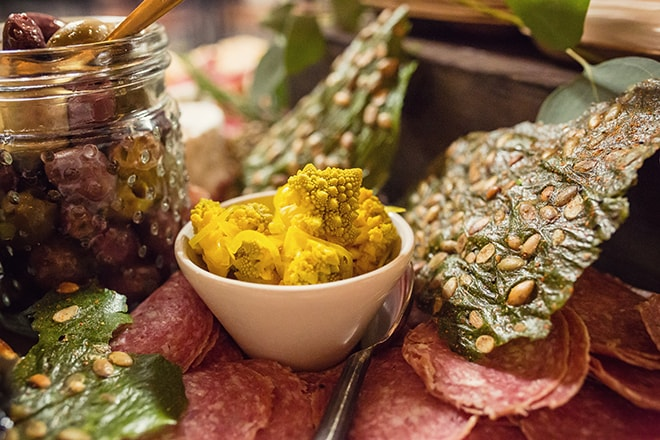 Charcuterie and Pesto Food photography San Francisco. by photographer Ella Sophie